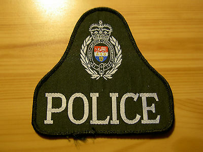 UK BRITISH POLICE - Obsolete West Mercia Constabulary Bell Patch