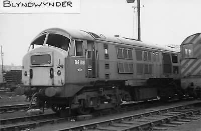 Class 21/29 North British No D6108 at Eastfield - Diesel Railway Photograph