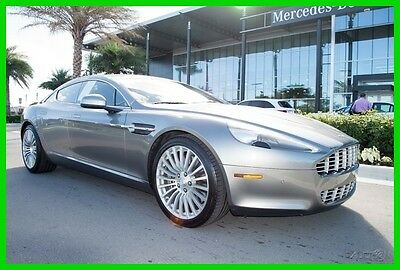 2011 Aston Martin Rapide Rear Seat Ent Cooled Front and Rear Seats 2011 Rapide Clean Carfax We Finance and assist with Shipping
