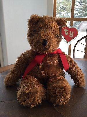 """Ty Rare """"SHAGGY"""" #5304 bear 18"""" 1991 tush / Mint 2nd Gen swing tag NEW OLD STOCK"""