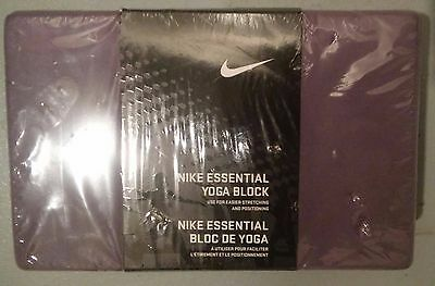 Nike Essential Purple & Pink Yoga Block