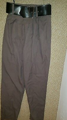 Womens 80's vintage trousers. size 12