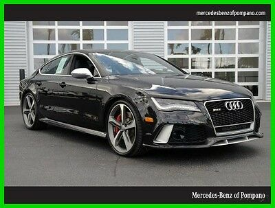 2014 Audi RS7 Prestige quattro 2014 RS 7 Prestige All Wheel Drive We Finance and assist with Shipping