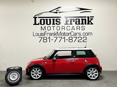2005 Mini Cooper S  ONE OWNER! S! 6 SPEED MANUAL! XENONS! HARMON/KARDON! 2 SETS OF RIMS AND TIRES!
