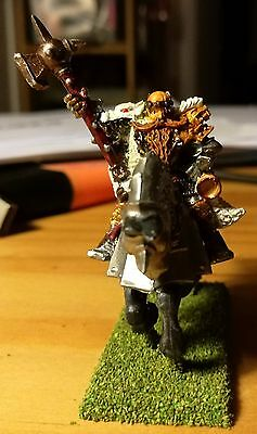 Grand Master of the Knights of the White Wolf. Suit WHFB/AoS/KoW
