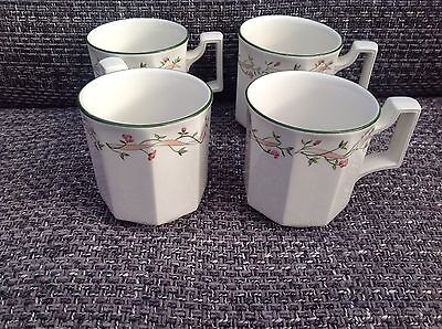 Johnson Brothers Eternal Beau Mugs X 4. Exc