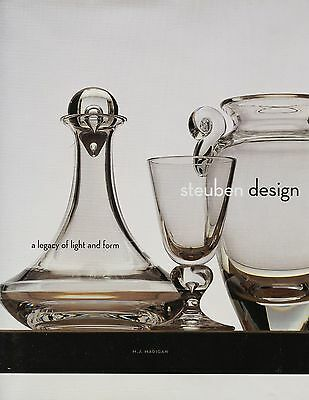 Steuben Glass Crystal Design Development Techniques Examples / Illustrated Book