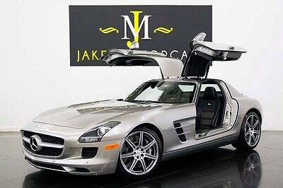 2011 Mercedes-Benz SLS AMG GULLWING...(1-OWNER) 2011 SLS AMG GULLWING, ONLY 8800 MILES! ALU-BEAM SILVER! 1-OWNER! COLLECTOR CAR!
