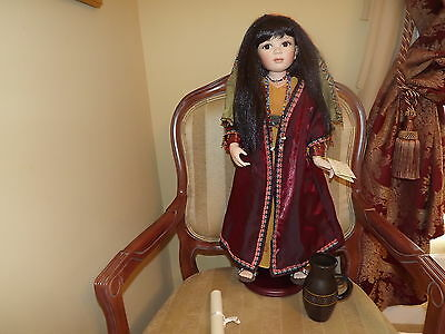 Show Stopper Porcelain Doll Aria Florence Maranuk Collection 26 in. With Box