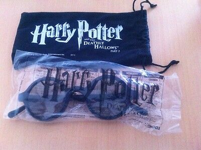 Harry Potter 3D Cinema Glasses - New With Pouch