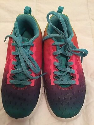 Youth Girls NIKE ATHLETIC Shoes SZ 12C