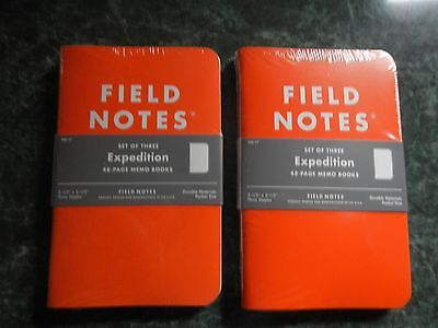 Field Notes Expedition 3 Pack (Sealed) X 2