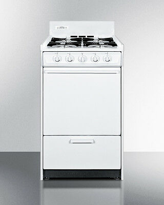 Summit Oven and Stove top, Good for Small Kitchens, WTM1107