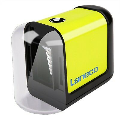 Electric pencil sharpener Laneco Battery Operated Heavy Duty Helical Bl... , New