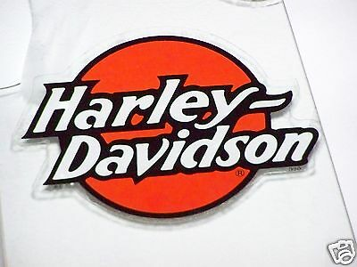 Authentic HARLEY DAVIDSON MOTORCYCLES IN Window Glass Windshield DECAL STICKER