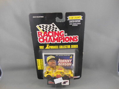 Johnny Benson Racing Champions Limited Edition 1997 Pinnacle Collector Series