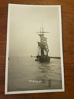 postcard sussex littlehampton the stirling SPRY photo shipping