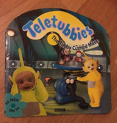 """""""Teletubbies"""": The Tubby Custard Mess Paperback Book"""