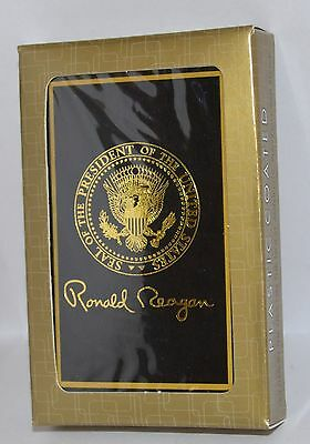 Ronald Reagan Presidential Seal Playing Cards~Signed