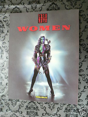 Spanish Comic Women Luis Royo 1996 Norma Editorial Picture Book