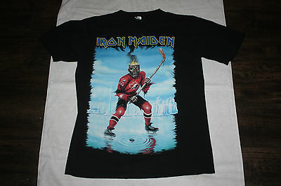 Rare Canadian Iron Maiden Somewhere Back In Time 2008 Concert Shirt