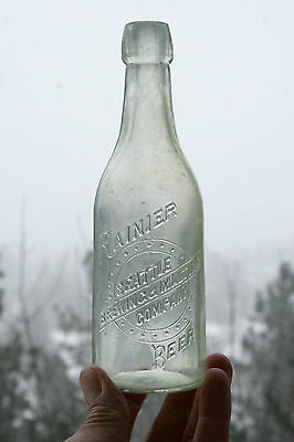 "Western Beer - ""RAINER/SEATTLE/BREWING & MALTING/COMPANY/BEER"" base ""A B CO"""