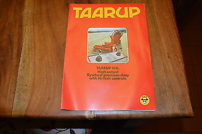 Taarup 108 Precision Chop Forage Harvester Brochure