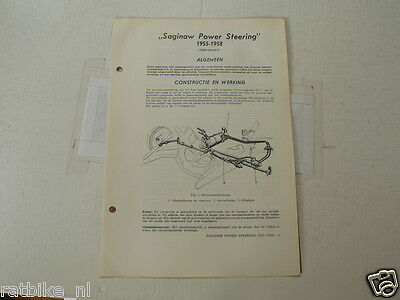 Tech36-Saginaw Power Steering 1955-1958 Chevrolet -Info