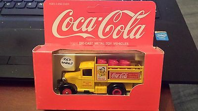 camion en fer de collection coca cola