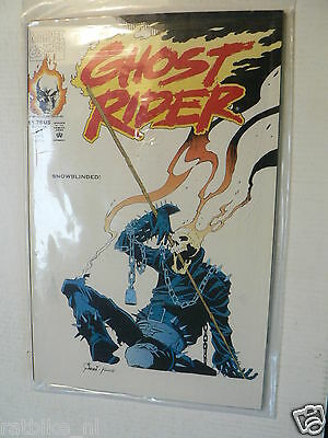 Usa Comic Ghostrider Snowblinded 1992 No 21 Marvel Comics