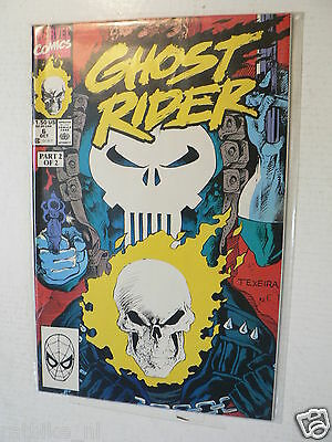 Usa Comic Ghostrider The Punisher Part One And Two 1990 Marvel Comics