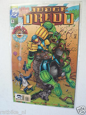 Usa Comic Judge Dredd Malice In Wonderland Dc Comics 1995 No 6