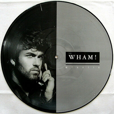 "George Michael / Wham! - I'm Your Man Uk 12"" Picture Disc Vinyl Original 1985"