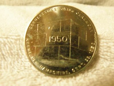 1950 Peerless National Grange Cornerstone Commemorative Coin Token Keene NH