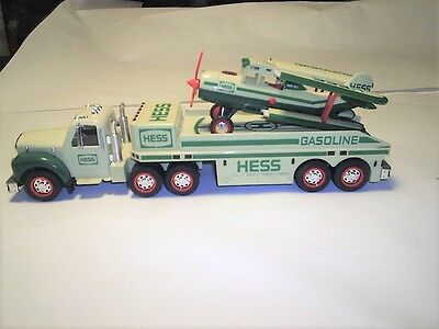 Hess Truck and Helicopter Set