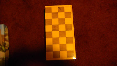 Fold Out Wooden Chessboard