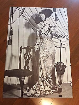 Mae West in Classic Dinner Dress (Large Black & White Poster) Make an Offer