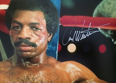 Carl Weathers Original Hand signed photo 12 x 8 with COA