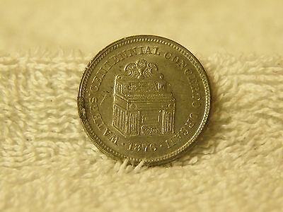 Horace Waters & Sons Pianos and Organs 481 Broadway NY Centennial Token Coin