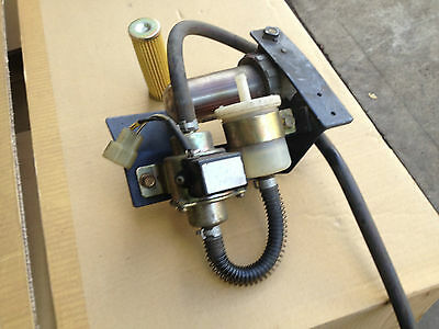 Used Kubota 12volt electric fuel pump, with filter, in Sydney