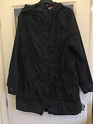 Navy Blue Plus Size XL Maternity Coat from H&M Mama