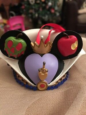 Disney Limited Edition Evil Queen Hat Ears Christmas Decoration Ornament