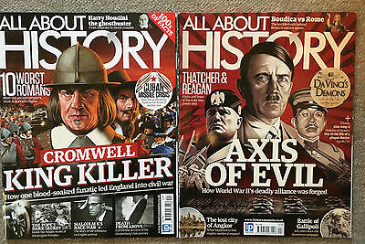 All About History Magazines - Issues - 18, 19, 20, 21, 24, 25