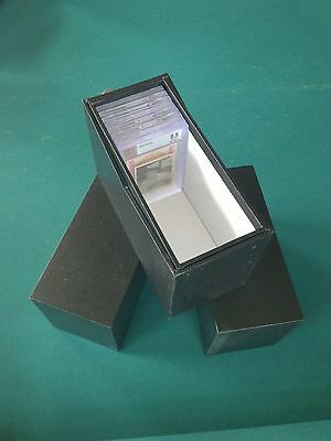 (3) Graded Card Storage Boxes V-Notch IMPERFECT (by LIONGoods)