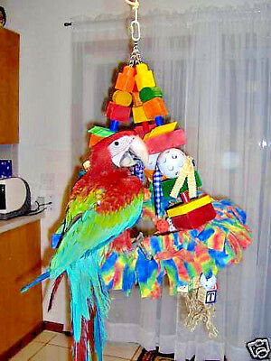 Wacky Swing The Ultimate X-Large Parrot Toy Macaw  New