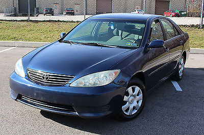 2005 Toyota Camry LE Sedan 4-Door 2005 TOYOTA CAMRY LE REMOTE START NO RESERVE