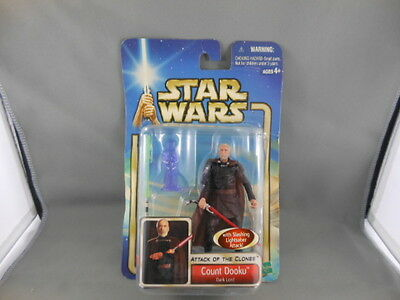 Star Wars Attack Of The Clones Count Dooku 4 Inch Action Figure