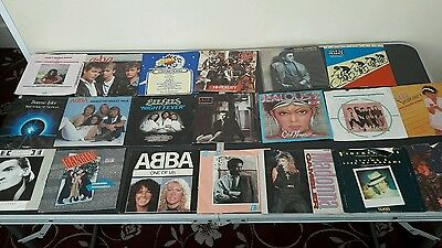 record collection (ABBA , Madonna,Bonnie,and other)