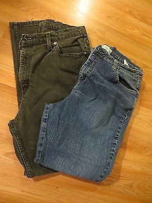 Lot of 2 Women's Faded Glory jeans size 18