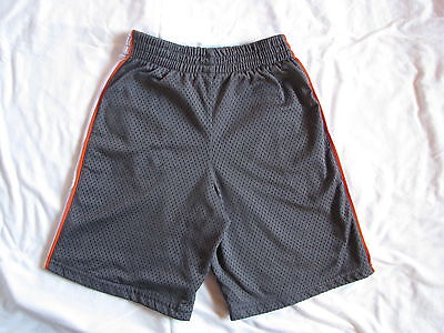Boys Breathable Mesh Gym Shorts - size 7 - excellent condition